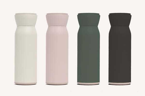 Hitch Water Bottle with a Removable Barista-Approved Cup Inside