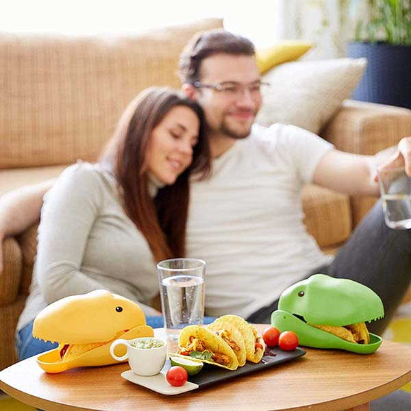 Kenley Dinosaur Taco Holder Brings Some Fun to Your Favorite Tacos