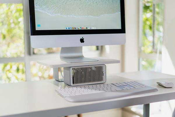 Kensington CoolView Wellness Monitor Stand with USB Desk Fan