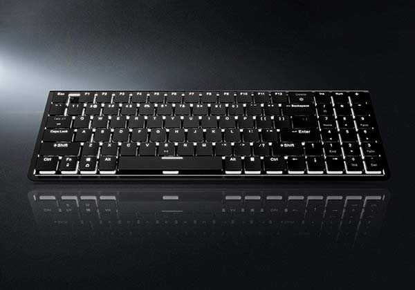 LTC Nimbleback LK-301 Compact Bluetooth Mechanical Keyboard with Ultra-Thin Design