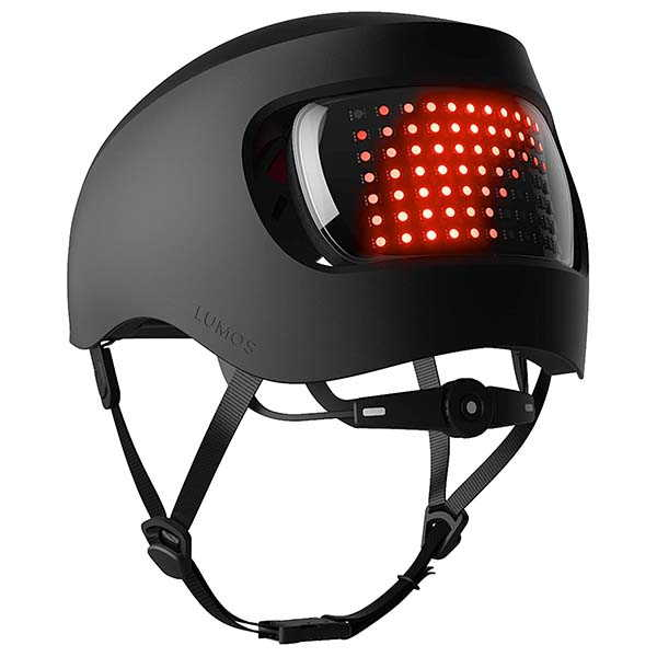 Lumos Matrix Smart Bike Helmet with Customizable RGB Light