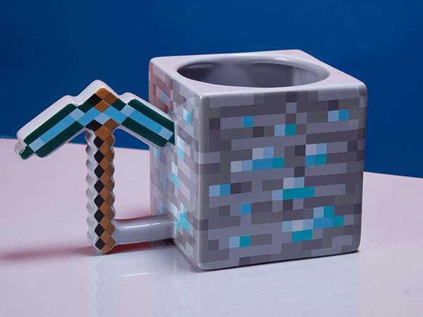 Minecraft Pickaxe Coffee Mug