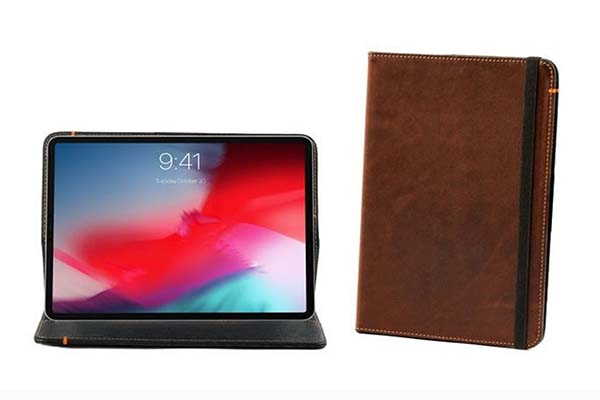 Pad&Quill Oxford iPad Pro Leather Case for New iPad Pros