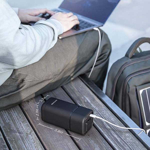 RAVPower 80W AC Power Bank with 30W PD and QC 3.0