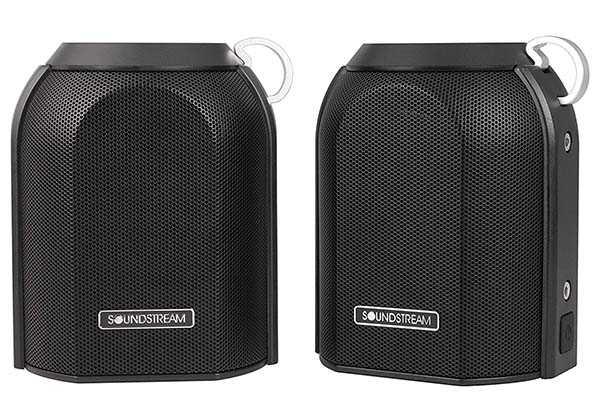 Soundstream h2Go Dual-Unit Portable Bluetooth Speaker