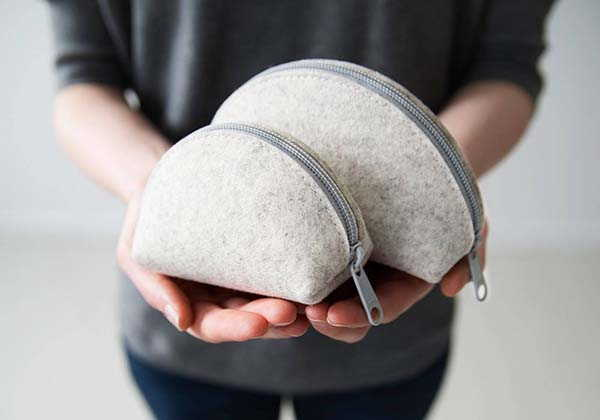 Wooly Dumpling Handmade Carrying Case for Accessories