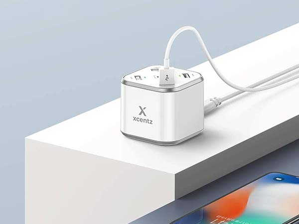 Xcentz xDynamo QC3.0 Desktop Charging Station with an Extra USB-C Port