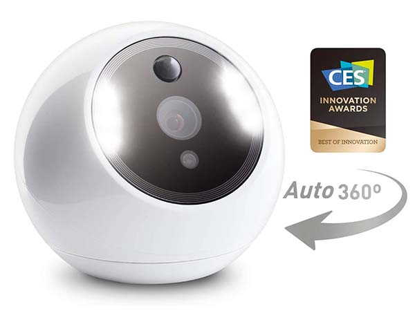 Amaryllo Apollo Smart Security Camera with Face Recognition