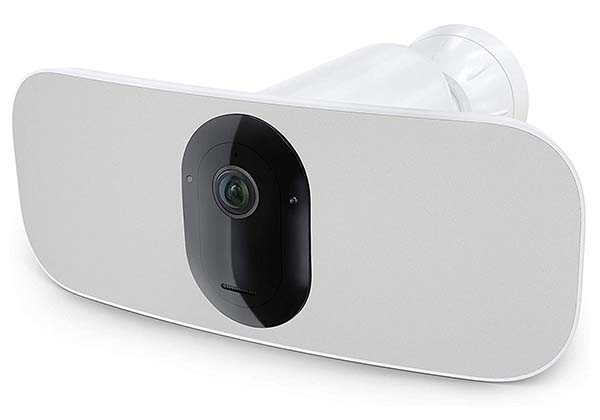 Arlo Pro 3 Security Floodlight Camera with Color Night Vision, 2K Video and More