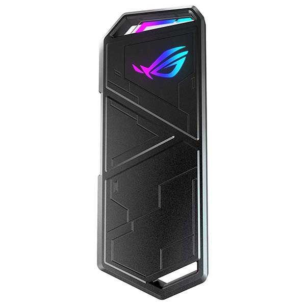 Asus Rog Strix Arion Aluminum Alloy M.2 NVMe SSD Enclosure with Aura Sync RGB Lighting