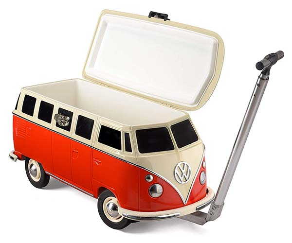 Board Masters Volkswagen Cool Box Cooler with Wheels and Handle