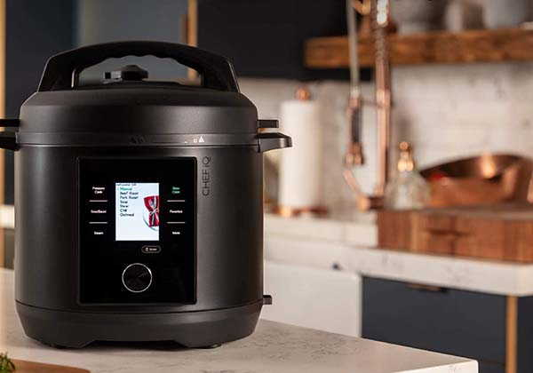 CHEF iQ Smart Pressure Cooker with 300+ Cooking Presets