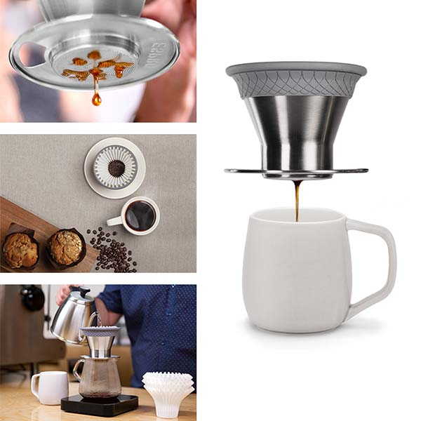 Espro Bloom Pour Over Coffee Brewer with Micro Filter Brewing System