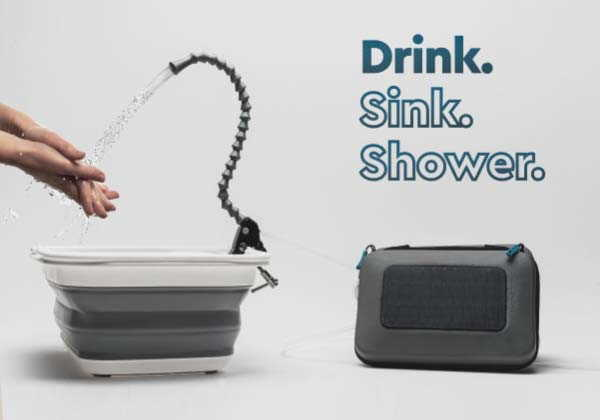 GoSun Flow Portable Water Purifier and Sanitation Station
