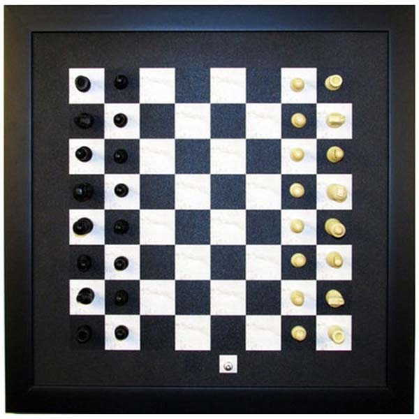 Handmade Wall Mountable Magnetic Chess Set