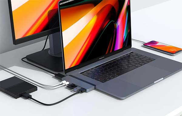 HyperDrive Duo 7-In-2 USB-C Hub for MacBook Pro/ Air