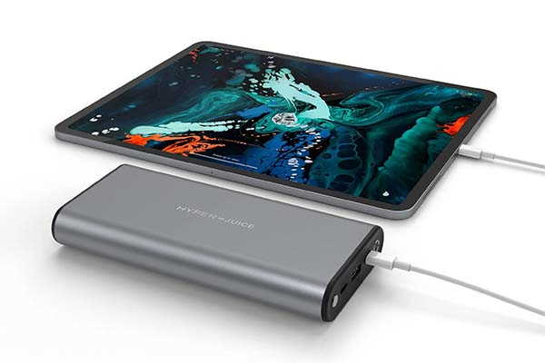 HyperJuice 130W Portable Power Bank with Dual USB-C Ports