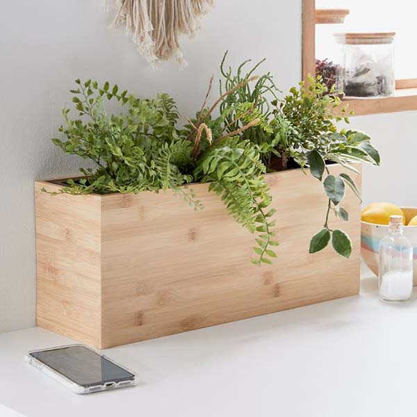 Modern Sprout Wooden Hydroponic Planter System