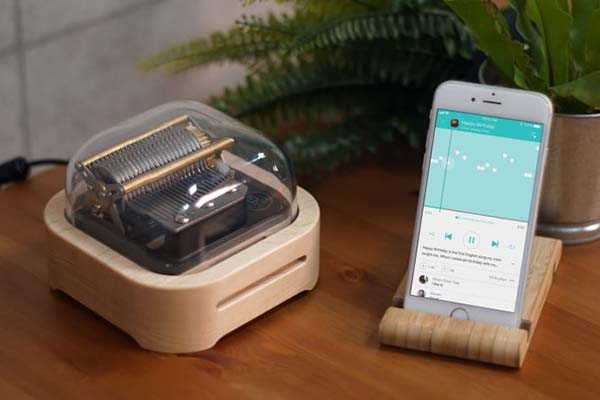 Muro Box App-Controlled Music Box Brings You Unlimited Music