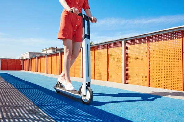 Ninebot KickScooter Air T15 Foldable Electric Scooter with Bluetooth Connectivity