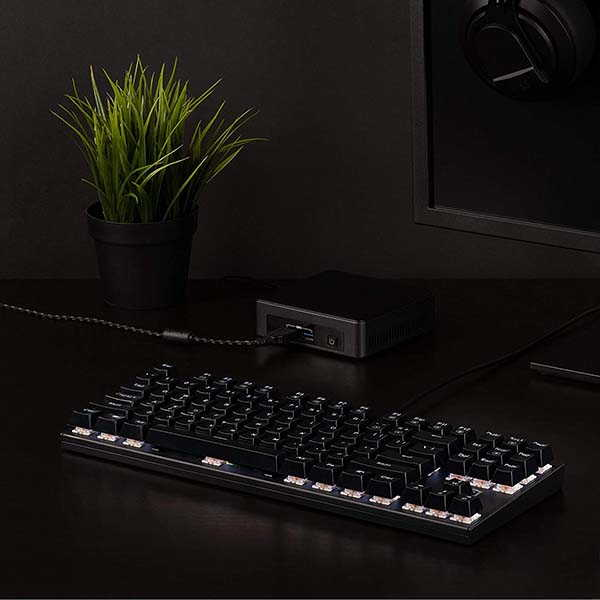Pluggable Performance TKL Mechanical Gaming Keyboard with 87-Key Layout