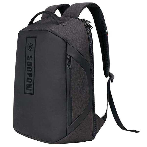 Sunpow Travel Laptop Backpack with Anti-Theft Back Pocket