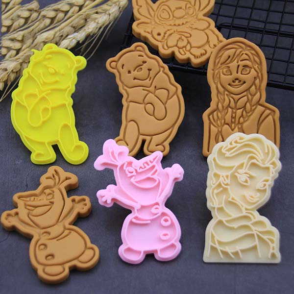 The 3D Printed Cookie Cutters Inspired by Disney Characters