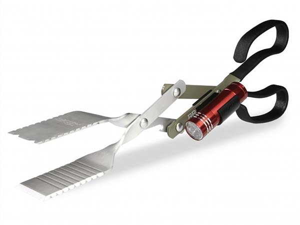 The 3-In-1 BBQ Tool with Detachable LED Flashlight