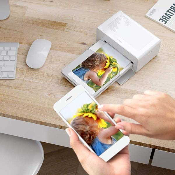 Victure Portable Bluetooth Photo Printer Supports 4x6 Photos