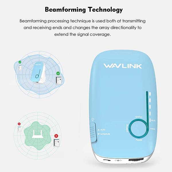 WAVLINK AC1200 Whole Home WiFi Mesh System with Touchlink Technology