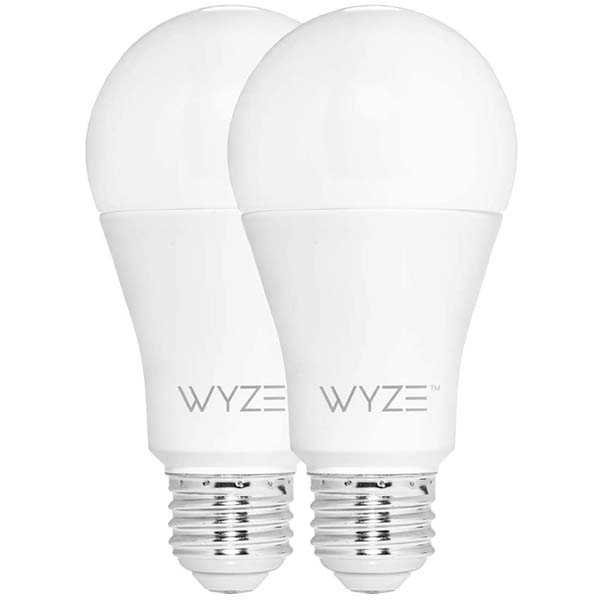 WYZE WLPA19-2 LED Smart Bulb Compatible Amazon Alexa