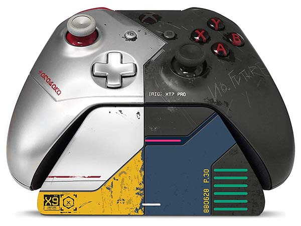 Xbox Pro Charging Stand Cyberpunk 2077 Limited Edition