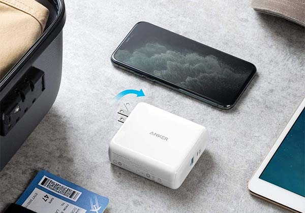 Anker PowerCore III Fusion 5K PD USB-C Wall Charger with Power Bank