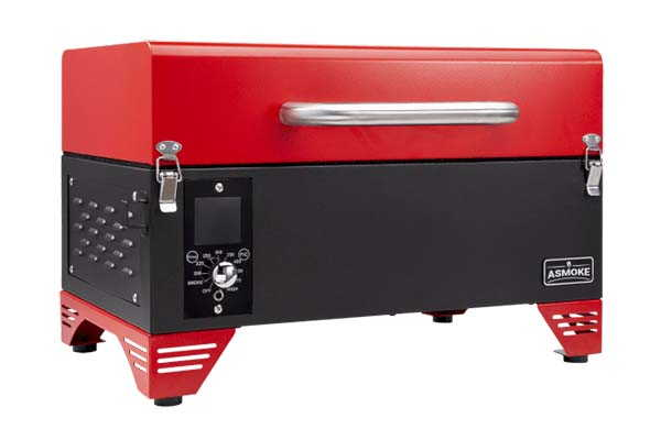 Asmoke Portable Applewood Pellet Grill Brings Fruity-Smoked Flavor to Your BBQ