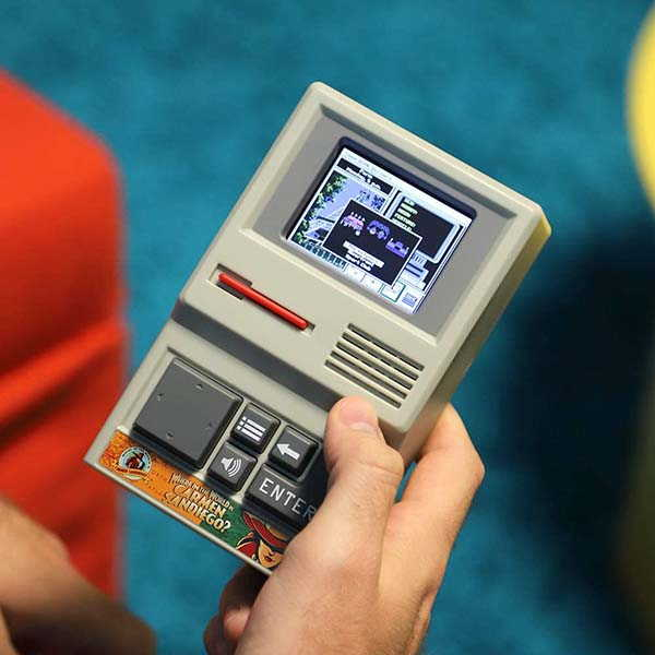 Basic Fun Carmen Sandiego Handheld Game Device