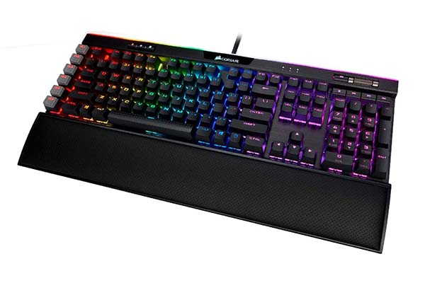 Corsair K95 RGB Platinum XT Mechanical Gaming Keyboard with 6 Dedicated Macro Keys