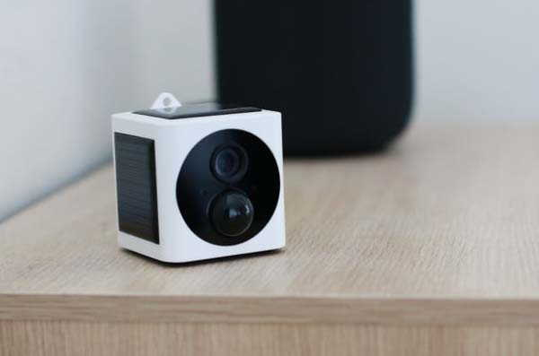 EyeCube Solar Powered Wireless Security Camera with 1080p Resolution