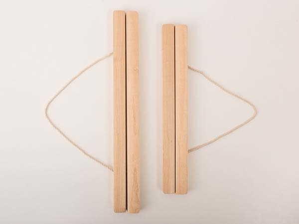 Handmade Wooden Magnetic Poster Hanger for Poster and Calendar