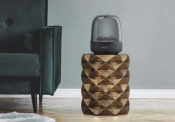 Harman Kardon Aura Studio 3 Bluetooth Home Speaker with Ambient Lighting