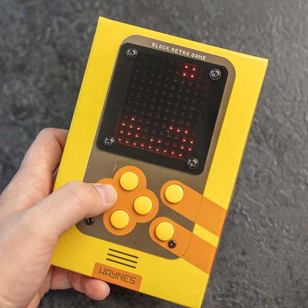 Haynes DIY Retro Arcade Handheld Game Device