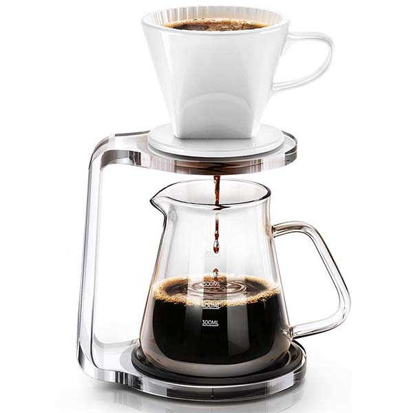 Hokeki Pour Over Coffee Maker with Dripper
