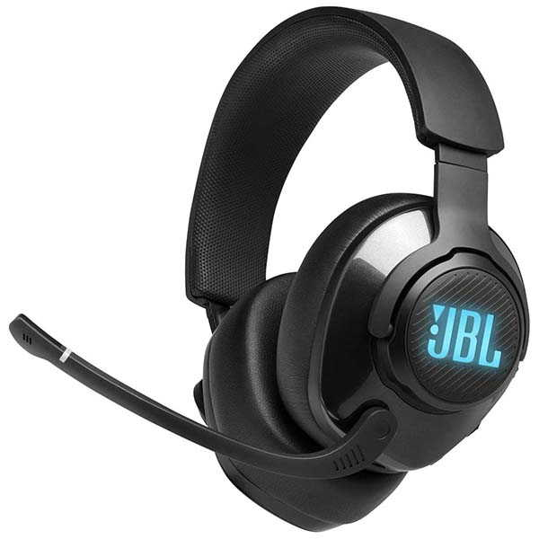 JBL Quantum 400 USB Gaming Headset with Game-Chat Dial