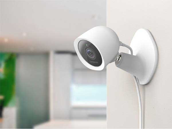 Kangaroo Smart Home Security Camera with  Privacy Shield Glass