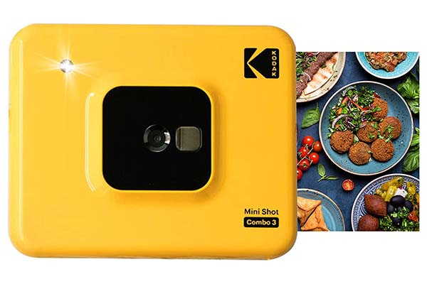 Kodak All-New Mini Shot 3 Bluetooth Instant Camera and Photo Printer