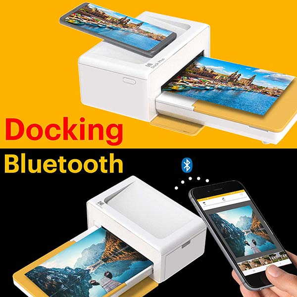 Kodak Dock Plus Wireless Portable Photo Printer