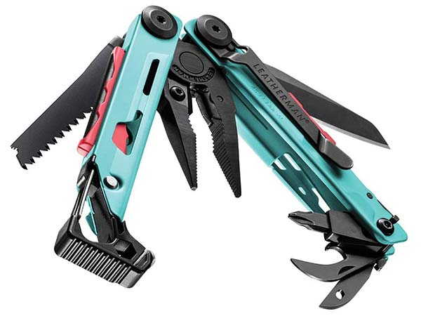 Leatherman Signal Camping Multitool with Fire Starter, Emergency Whistle and More