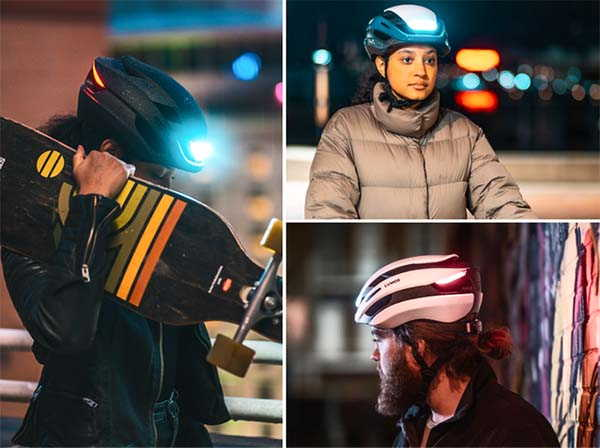 Lumos Ultra Bike Helmet with LED Lights and Turn Signals