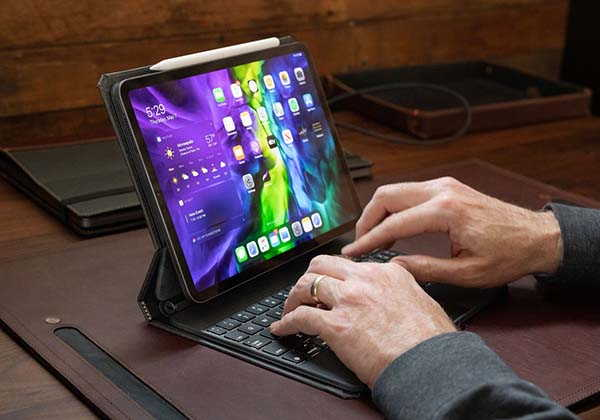 Pad&Quill Copertina Magic iPad Pro Case Supports Magic or Smart Keyboard