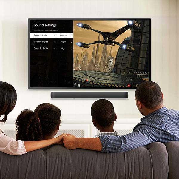 Roku Smart Soundbar with 4K Streaming Media Player