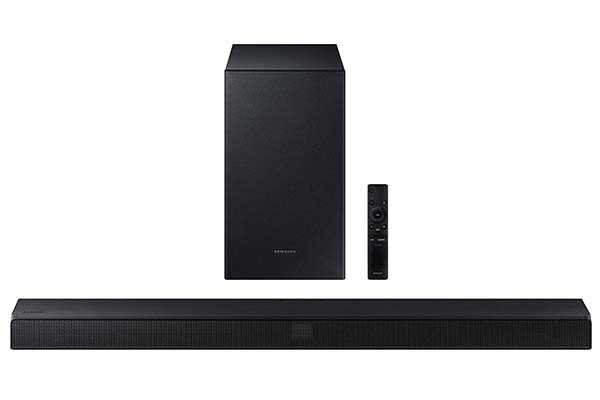 Samsung HW-T450 Bluetooth Soundbar with Dolby Audio and Wireless Subwoofer